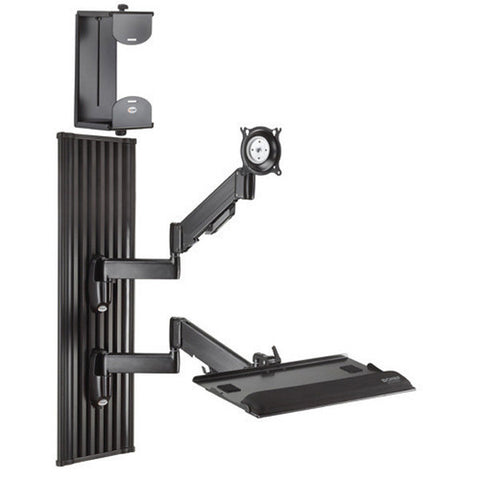 All-in-One Monitor Workstation Wall Mount