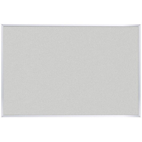 "Vinyl Bulletin Board - Aluminum Frame - 33.75"" x 48"" - Cotton"