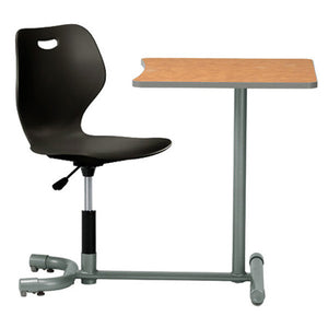 360 Degree School Desk with Pneumatic Swivel Seat