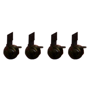 Casters for the Economical Full Floor Lectern - Set of 4