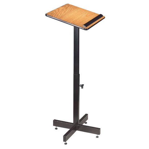 Economical Adjustable-Height Portable Laminate Lectern