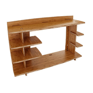 "43"" Bamboo Desk Hutch"