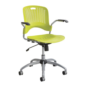 Sassy Swivel Chair with Arms - Grass