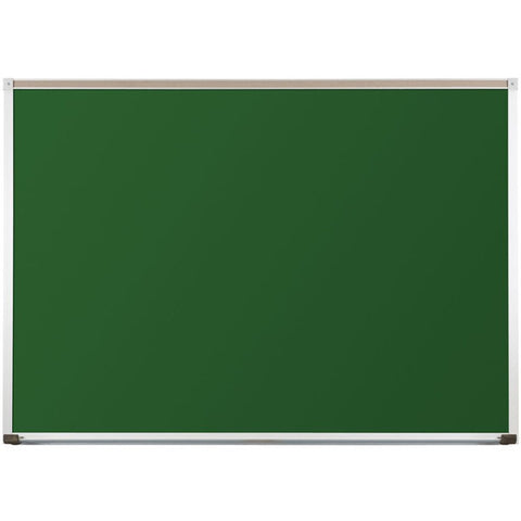 Wall Mounted Porcelain Steel Magnetic Chalkboard - 4' x 4' to 4' x 16'