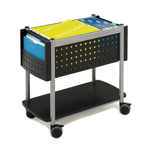Scoot Mobile File Cart with Open Top