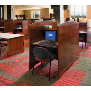 CrossRoads Back-to-Back Double Study Carrel Starter Unit