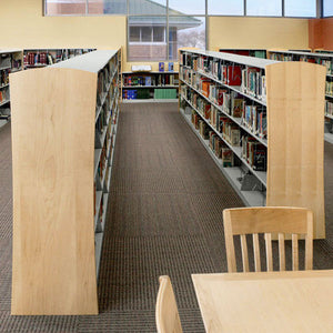 CrossRoads Double-Sided Library Shelving - Add-On Units