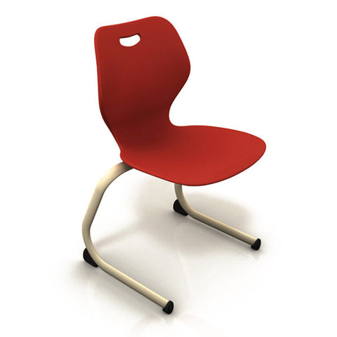 Intellect Wave Cantilever Stacking Chair - 3 Sizes