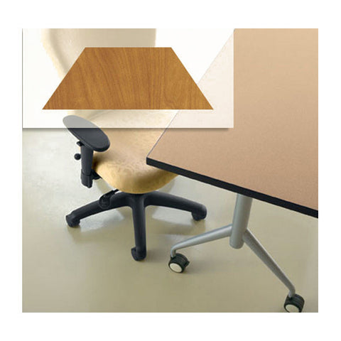 "Trek Trapezoid Flip Top Table - 30"" x 30"" x 30"" x 60"""