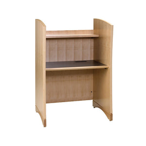 CrossRoads Library Study Carrel - Add-On Unit