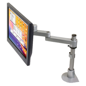 Articulating LCD Arm and Pole Mount, for Wall or Desk Mount
