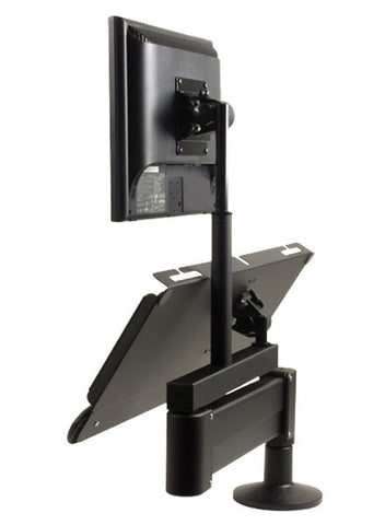 "Heavy-Duty LCD Data Entry Arm - 31"" Reach - for Wall Mount or Desk Mount"