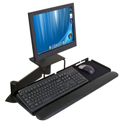 "Flexible LCD Data Entry Arm - 17-1/2"" Reach - for Wall Mount or Desk Mount"
