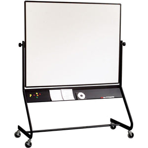 Euro Frame Reversible Mobile Whiteboard and Projector Board - 4' x 6'