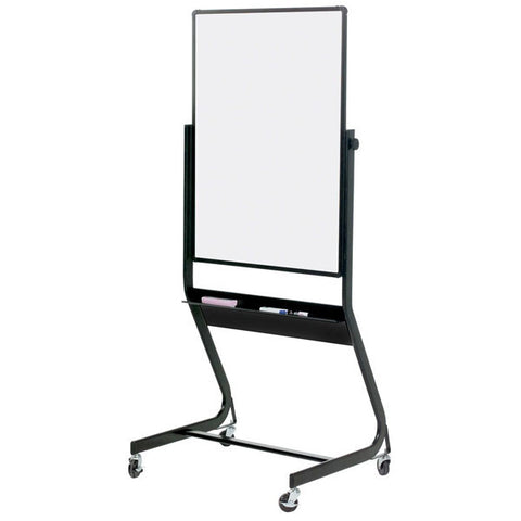 "Euro Frame Double Sided Mobile Whiteboard - 40"" x 30"""