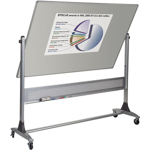 Platinum Frame Double Sided Mobile Projection Board - 4' x 6'