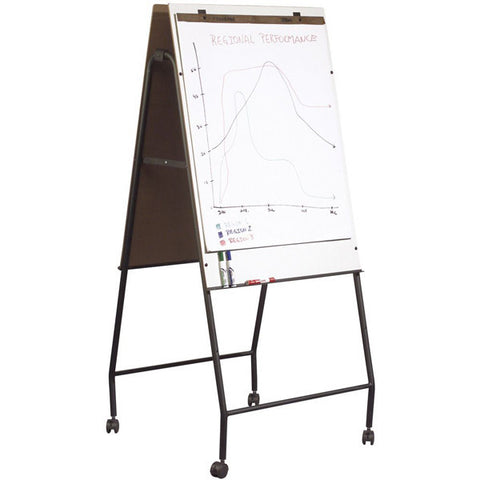 Folding Double-Sided Mobile Dry Erase Easel