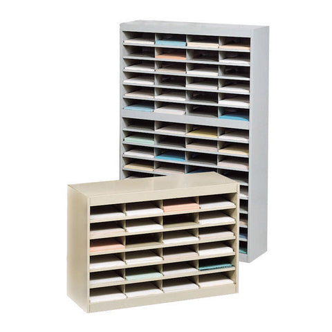 Steel Literature Organizer / Mail Filing System - 4 Size Models