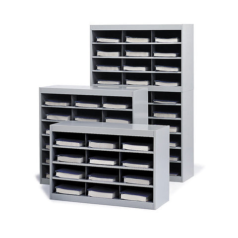 Steel Letter / Legal Sized Literature Sorter - 3 Size Models