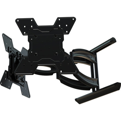 Hydra digital display dual monitor wall mount with on the fly landscape to portrait rotation
