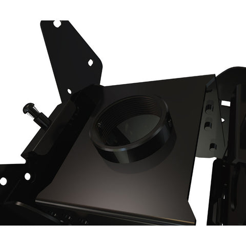 "Ceiling mount box and VESA screen adapter assembly for 13"" to 37"" dual back to back screens"