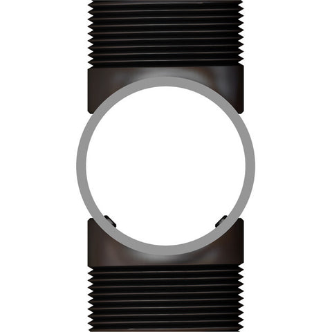 Horizontal Threaded Slide Collar with two thread points