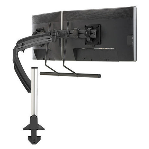 Kontour™ K1C Dynamic Column Mount Dual Monitor Array