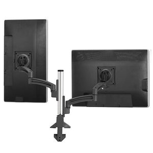 Kontour™ K2C Articulating Column Mount 2 Monitors