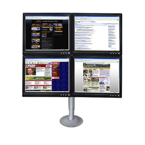 Quad LCD Desk Stand