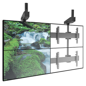 FUSION™ Micro-Adjustable Large Ceiling Mounted 2 x 2 Video Wall Solutions