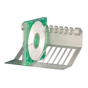 Rail Mounting 10-Slot CD Holder