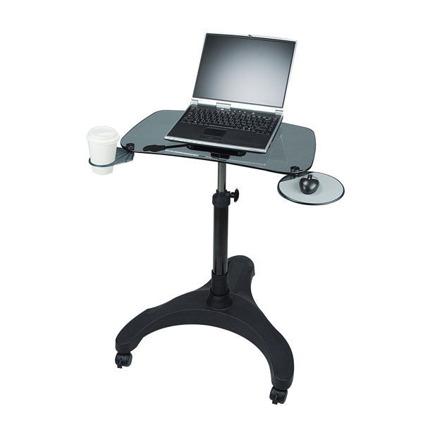 Rolling Laptop Stand - Foter