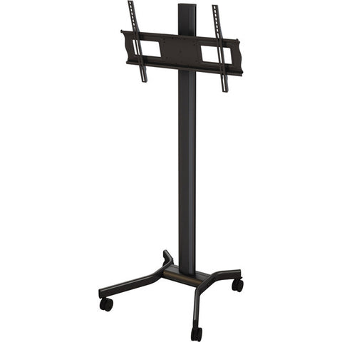 "Mobile cart with height and tilt adjustment for 37"" to 63"" screens"