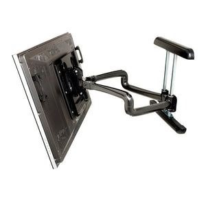 "Dual Swing Arm TV Wall Mount for 42"" to 71"" Displays - 37"" Extension"