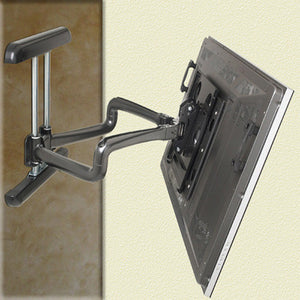 "Dual Swing Arm TV Wall Mount for 42"" to 71"" Displays - 25"" Extension"