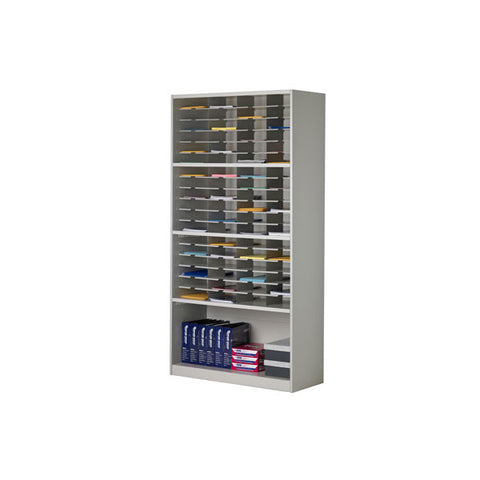 Mailflow-To-Go 72-Slot Mail Cabinet