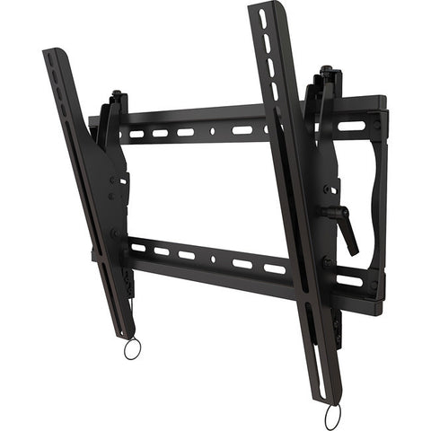 "Universal tilting wall mount for 26"" to 46""+ flat panel screens with post installation leveling"