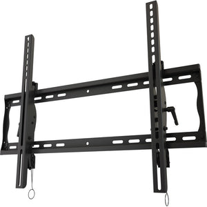 "Universal tilting wall mount with post installation leveling for 32"" to 55""+ flat panel screens"