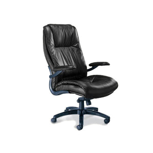 Ultimo Leather 100 Series High-Back Executive Chair - Black