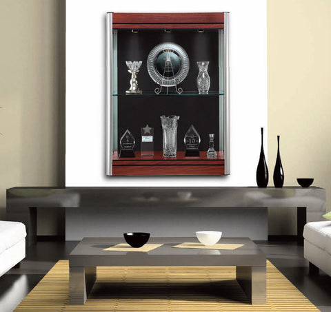 Contempo Series Wall Mounted Display Case