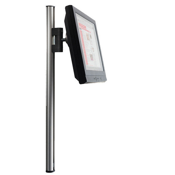 Tetra Wall Mounted Extrusion Pole With Sliding Lcd Mount