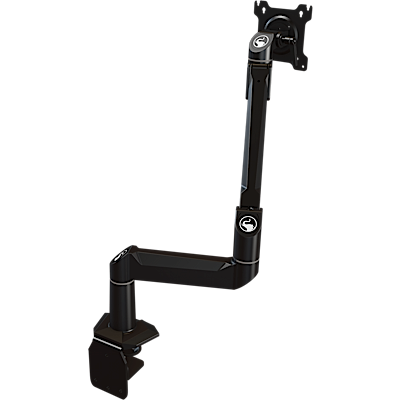 Dual link desktop arm