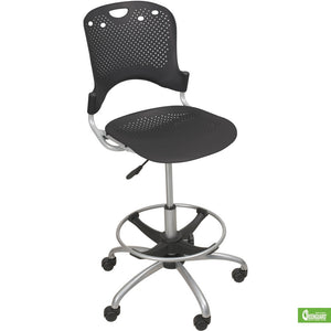 Circulation Task Stool - Black