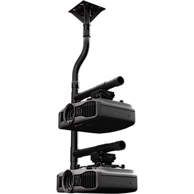 Stacked Projector Mount with JR3 universal adapter