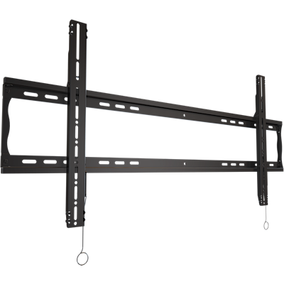 "NEW Robust Series Flat mount for large-format 70 to 90"" TVs with horizontal adjustment and post-installation leveling"