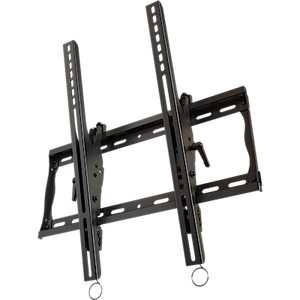 "Universal tilting mount with post installation leveling for portrait mounting of 37"" to 63""+ flat panel screens"