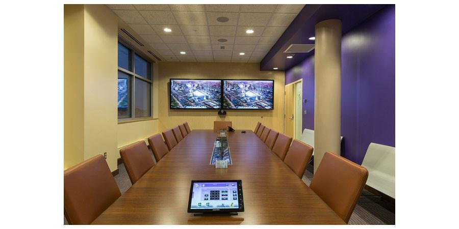 Conference Tables, Conference Chairs and Wall Mounts for large Screens