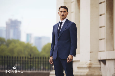 Scabal Navy Suit