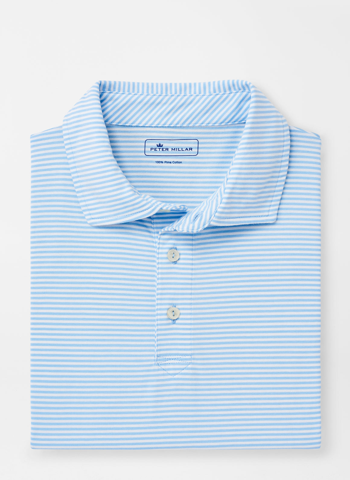 Kribi Beach Aqua Cotton Polo