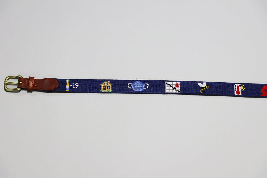 2020 Life Belt Needlepoint Belt